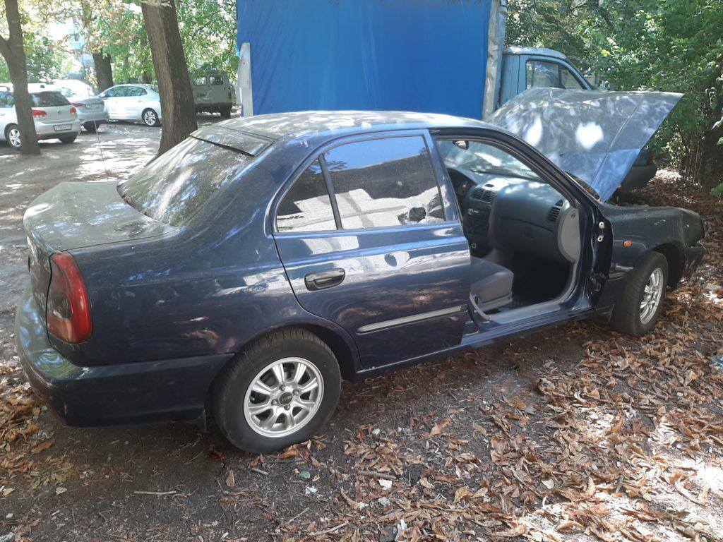 Разобранный Hyundai Accent